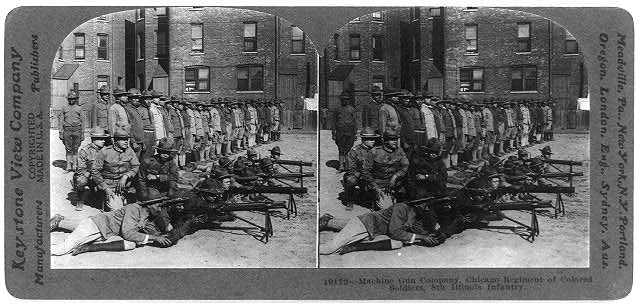 Machine Gun Co., Chicago Regiment of Colored Soldiers, 8th Illinois Infantry