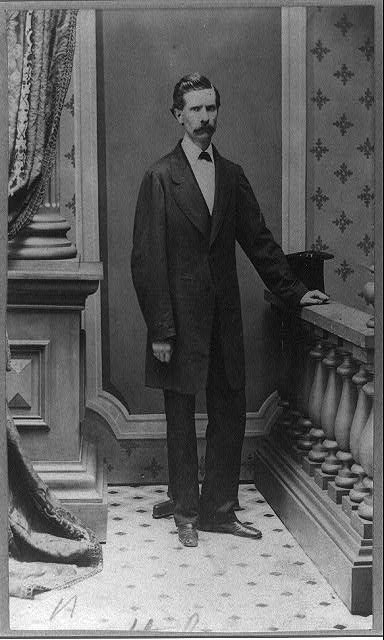 [John G. Stephenson, full-length portrait, standing, facing right]