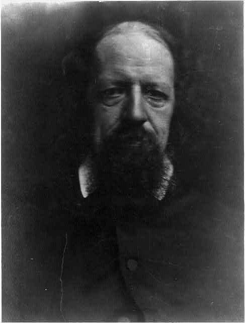 Portrait of Alfred, Lord Tennyson