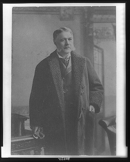 [Chester Arthur, three-quarter length portrait, standing, facing right, wearing overcoat]