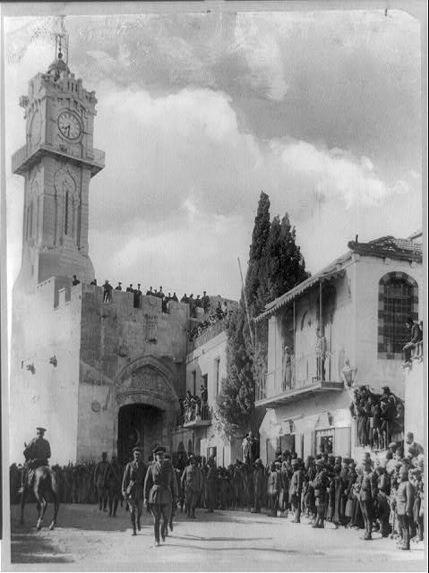 Palestine - Jerusalem. General Allenby&#39;s entrance into Jerusalem