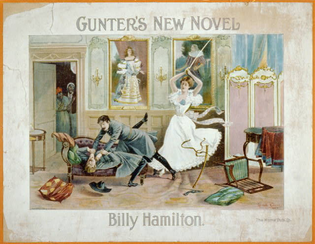 "Gunther's new novel ""Billy Hamilton"", the Home Pub. Co."