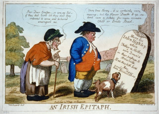 An Irish epitaph