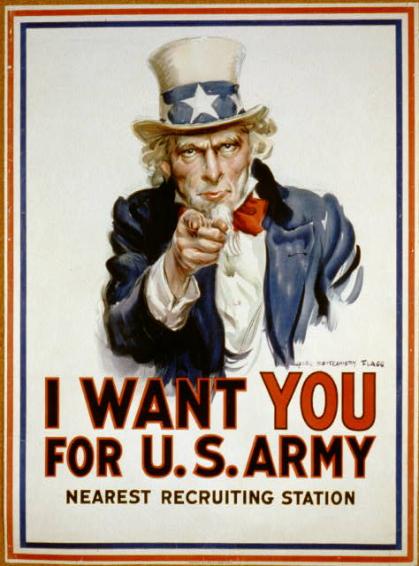I want you for U.S. Army : nearest recruiting station