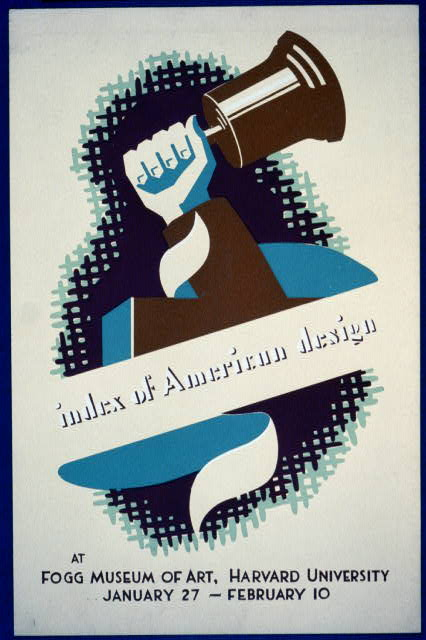 Index of American Design at Fogg Museum of Art, Harvard University