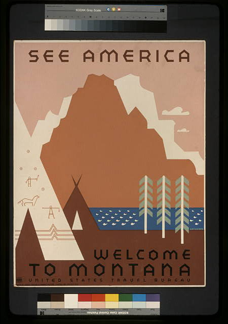 See America Welcome to Montana /