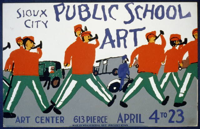 Public school art, Sioux City Art Center