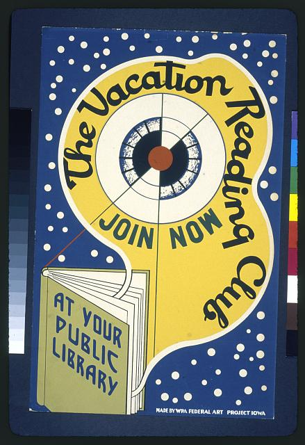 The vacation reading club - join now at your public library