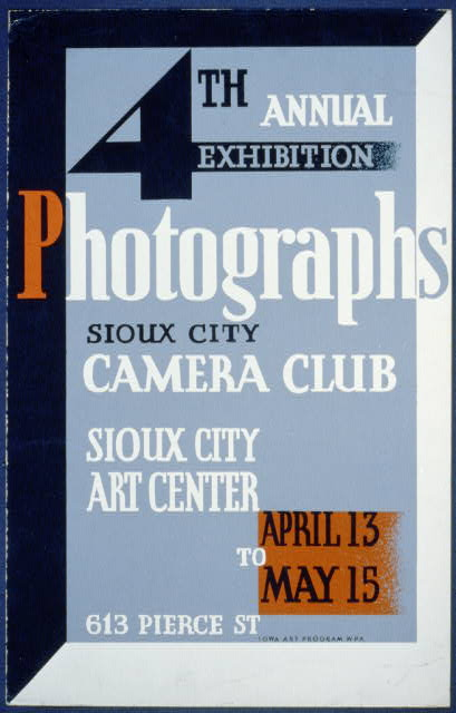 Photographs, 4th annual exhibition, Sioux City Camera Club