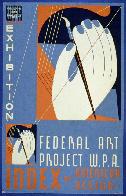 WPA Federal Art Project in Ohio presents exhibition [of] Index of American Design