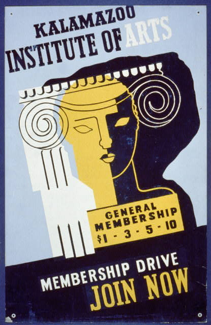 Kalamazoo Institute of Arts - membership drive - join now