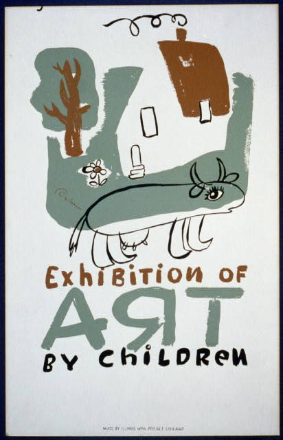 Exhibition of art by children