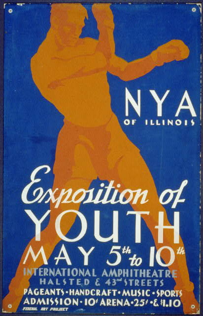N.Y.A. of Illinois--Exposition of Youth ... pageants, handcraft, music, sports