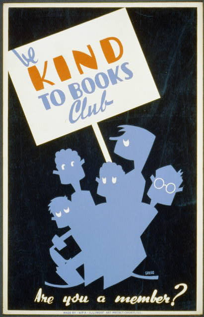 Be kind to books club Are you a member? /