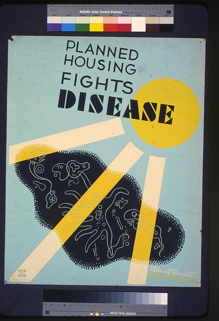 Planned housing fights disease