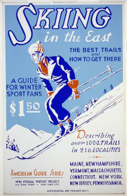 Skiing in the East The best trails and how to get there : A guide for winter sport fans : Describing over 1000 trails in 216 localities.