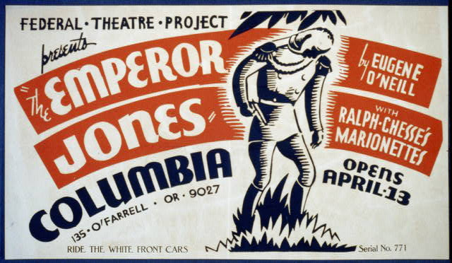 """The Emperor Jones"" by Eugene O'Neill with Ralph Chesse's Marionettes"
