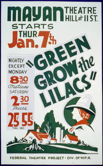 """Green grow the lilacs"""