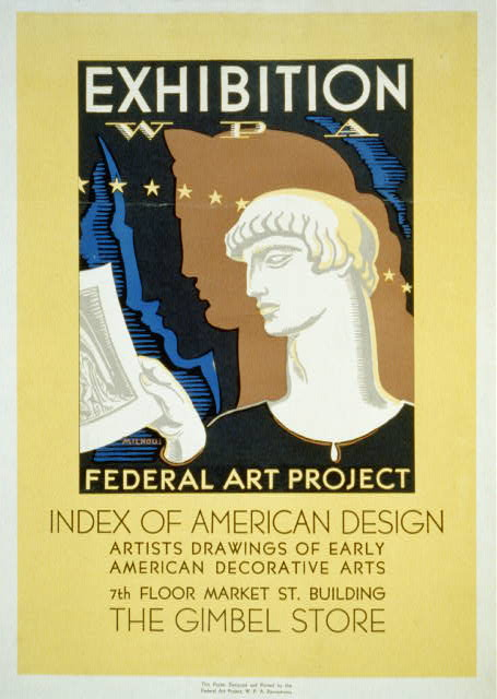 Exhibition WPA Federal Art Project Index of American Design /