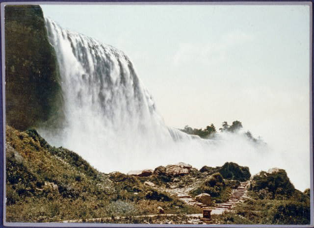 American Falls from foot of incline