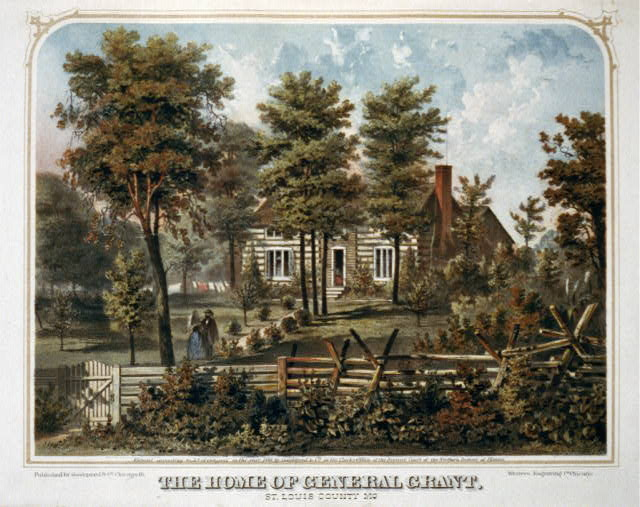 The home of General Grant, St. Louis County, Mo.