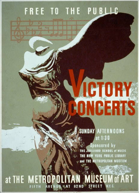 Victory concerts at the Metropolitan Museum of Art Free to the public /