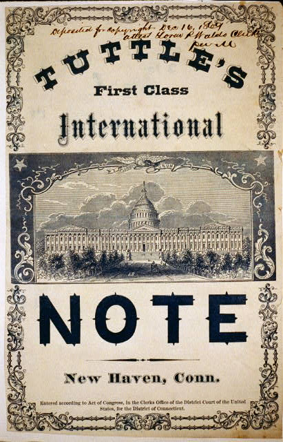 Tuttle's first class international note