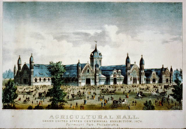 Agricultural Hall: Grand United States Centennial Exhibition, 1876