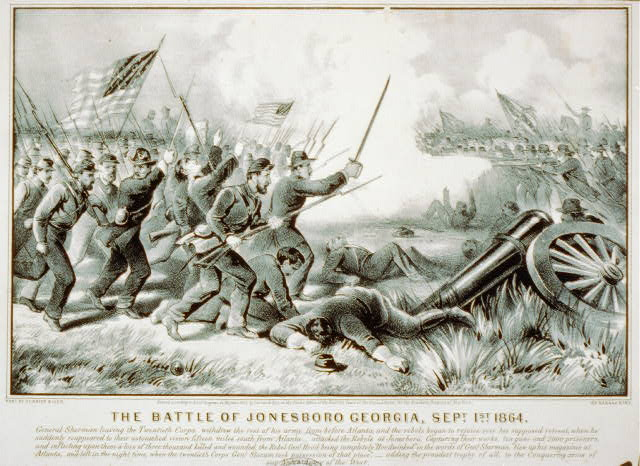 The battle of Jonesboro Georgia, Sept. 1st 1864