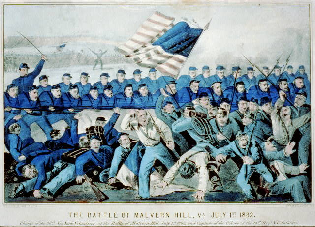 The battle of Malvern Hill, Va. July 1st 1862