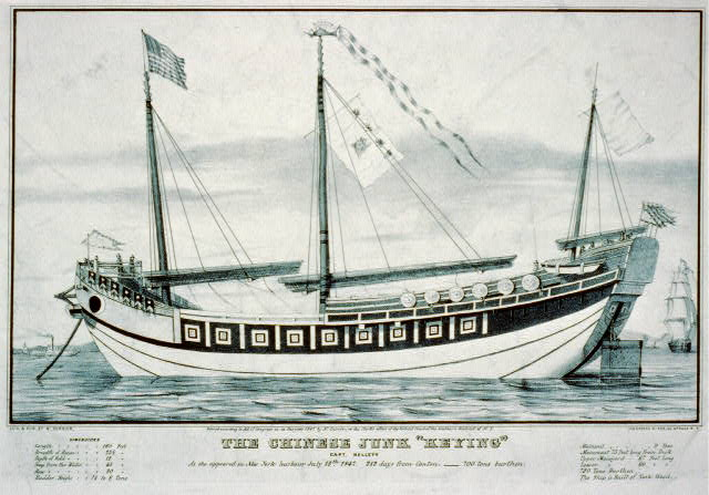 "The Chinese junk ""Keying"": Capt. Kellett"