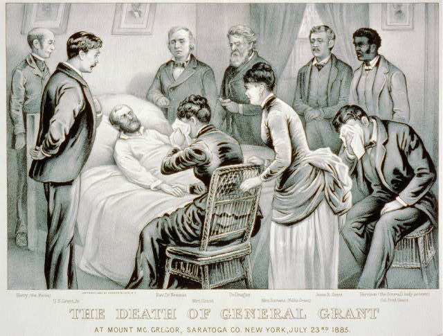 The Death of General Grant: At Mount Mc.Gregor, Saratoga Co. New York, July 23rd 1885