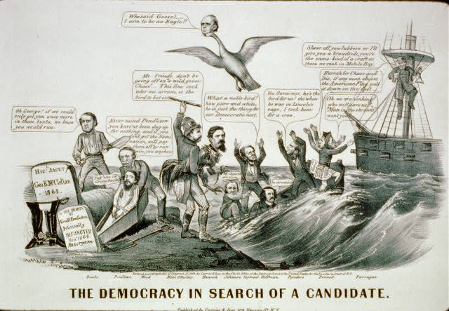 The Democracy in search of a candidate