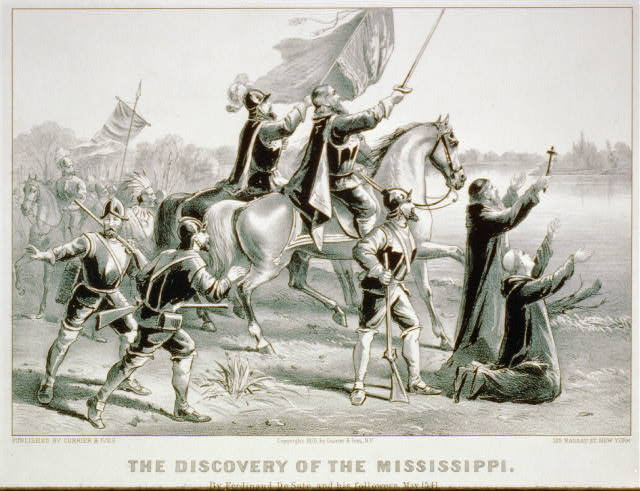 Discovery of the Mississippi: By Ferdinand De Soto, and his followers, May 1541