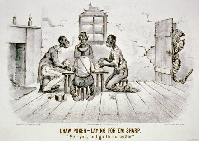 "Draw Poker-Laying for' em sharp: ""See you, and go three better"""