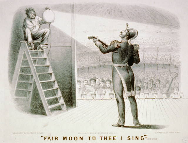 """Fair moon to thee I sing""-(Pinafore)"