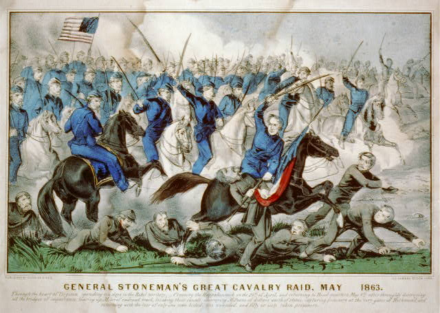 General Stoneman's great cavalry raid, May 1863