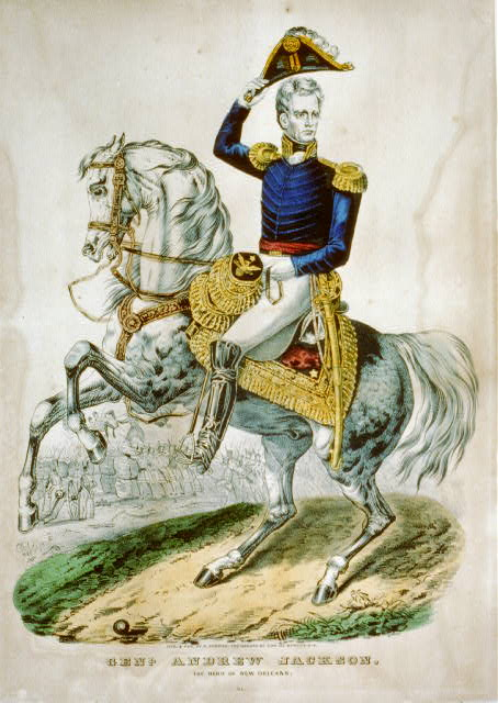 Genl. Andrew Jackson: the hero of New Orleans
