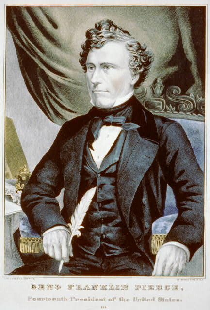 Genl. Franklin Pierce: fourteenth president of the United States