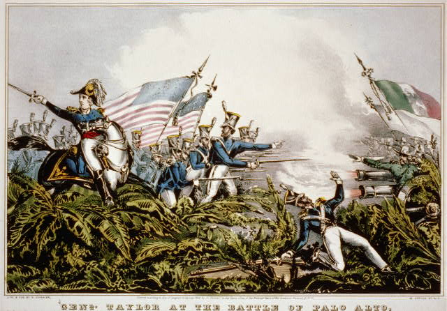 Genl. Taylor at the battle of Palo Alto: May 8th 1846