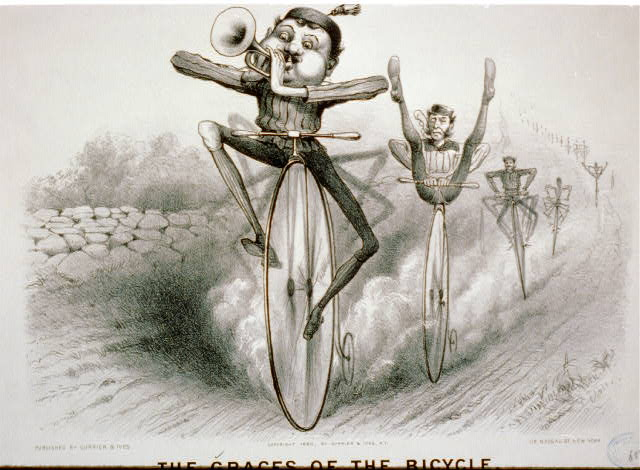 The graces of the bicycle