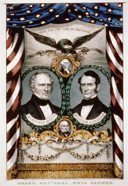 Grand, national, Whig banner