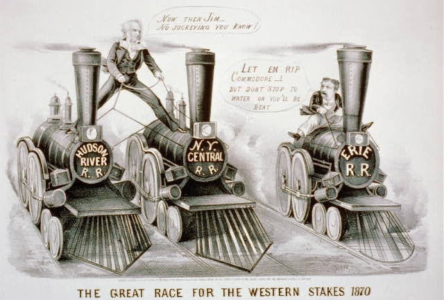 The great race for the Western stakes 1870