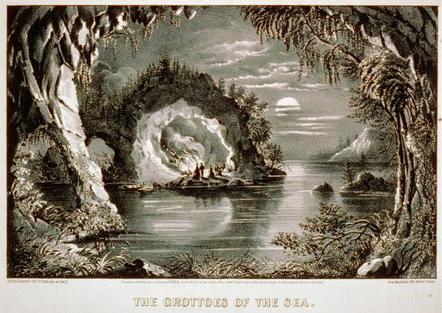 The grottoes of the sea