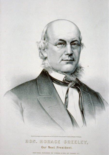 Hon. Horace Greeley: our next president