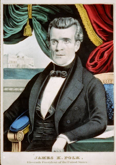 James K. Polk - eleventh president of the United States