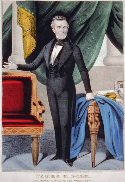 James K. Polk: the peoples candidate for President