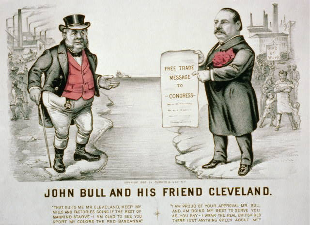 John Bull and his friend Cleveland