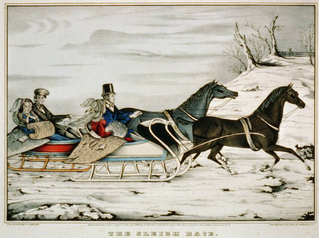 The sleigh race