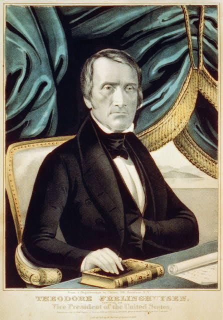 Theodore Frelinghuysen: nominated for Vice President of the United States